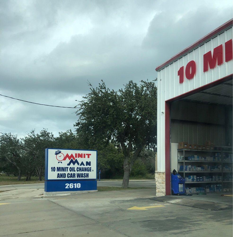 Minit Man 10 Minit Oil Change: 2610 Hwy 35 N, Rockport, TX