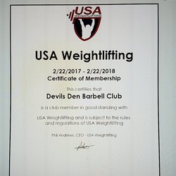 Devils Den Barbell Club - Gyms - 4669 Apollo, Fort Mohave