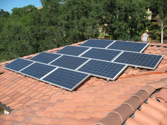 Solar Electric On Barrel Tile Roofs Yelp