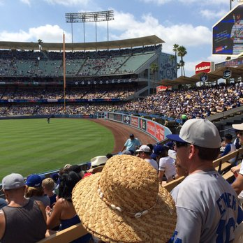 Dodger Stadium All You Can Eat Right Field Pavilion 208