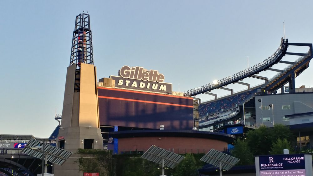 175f489f1a4 Photo of Gillette Stadium - Foxborough, MA, United States. Gillette Stadium,  home