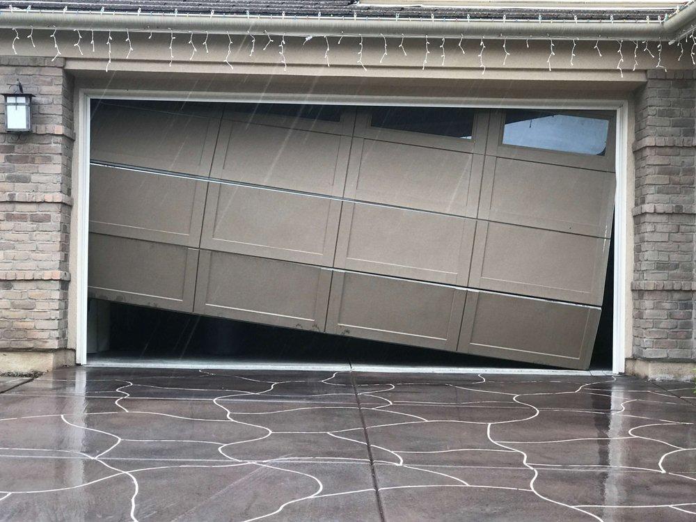 garage door off track repair orange county ca yelp
