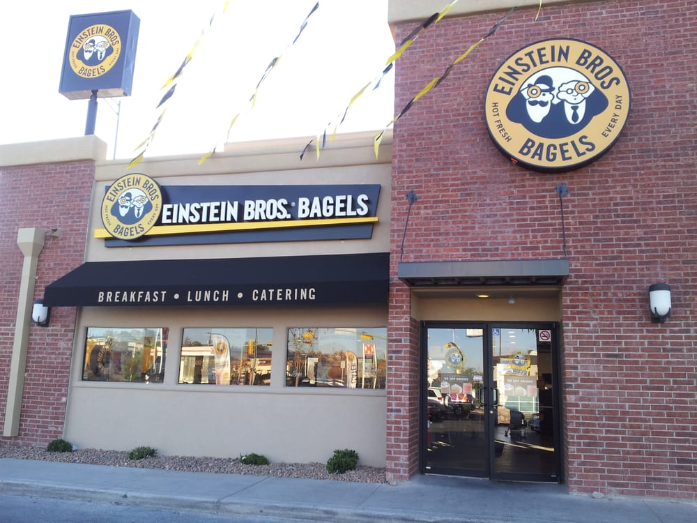 Einstein bros bagels 16 reviews bagels 6105 n mesa for New homes el paso tx west side