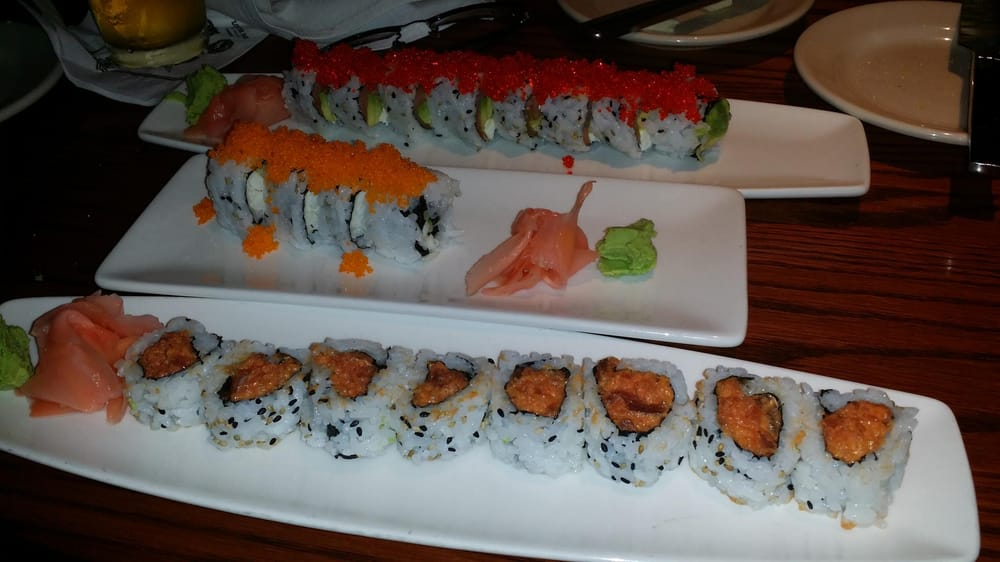 The sushi was decent pricey though yelp for The fish market atlanta
