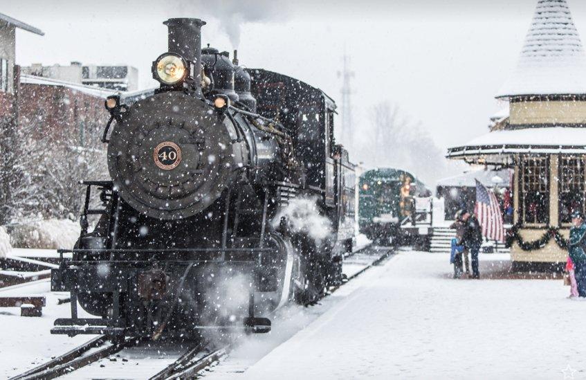 black beauty encounters a steam train