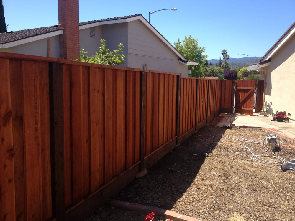Staining A Fence With Cabot Australian Timber Oil Yelp