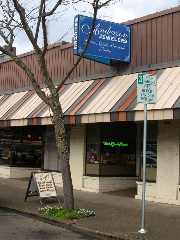 Anderson Jewelers: 457 SW Madison Ave, Corvallis, OR