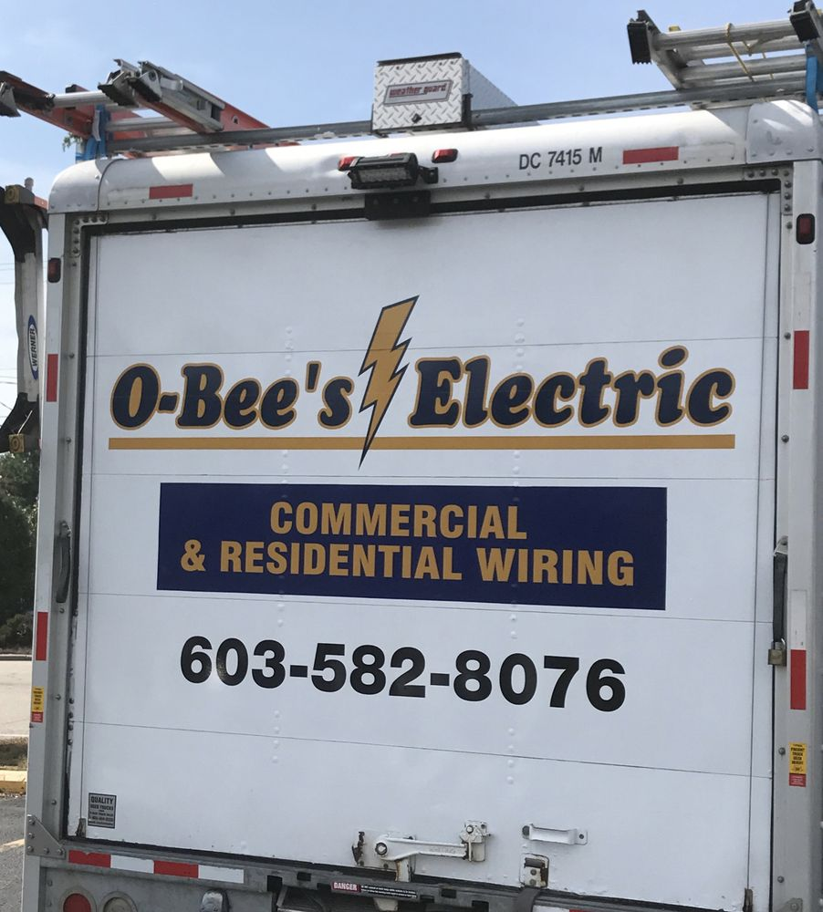 O Bees Electric Electricians Northwood Nh Phone Number Yelp Commercial Motor Wiring