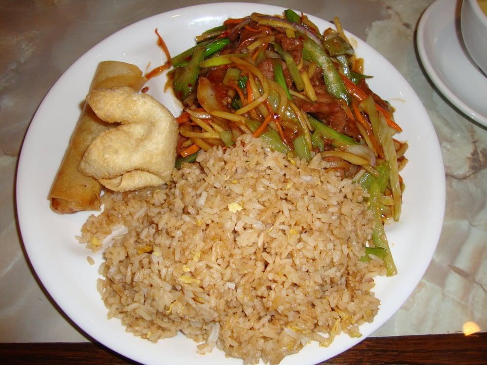 Szechuan Beef From Tsai Shen Garden Feb 21st 2012 Visit