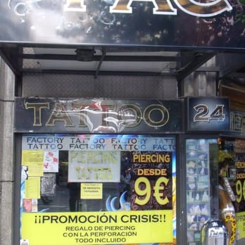 Factory Tattoo 10 Reseñas Tatuajes Calle De La Montera 24