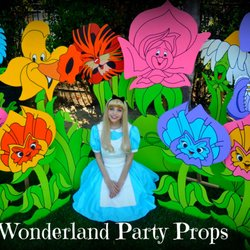 photo of wonderland party props santa clarita ca united states life size