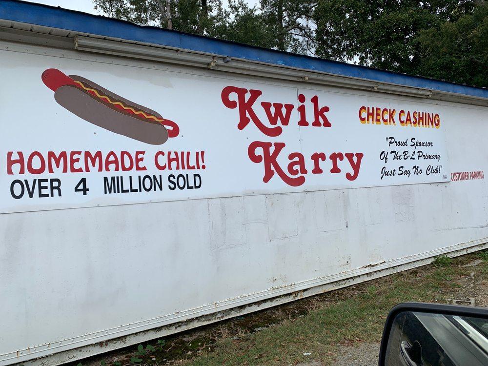 Kwik Karry: 503 W Church St, Batesburg, SC