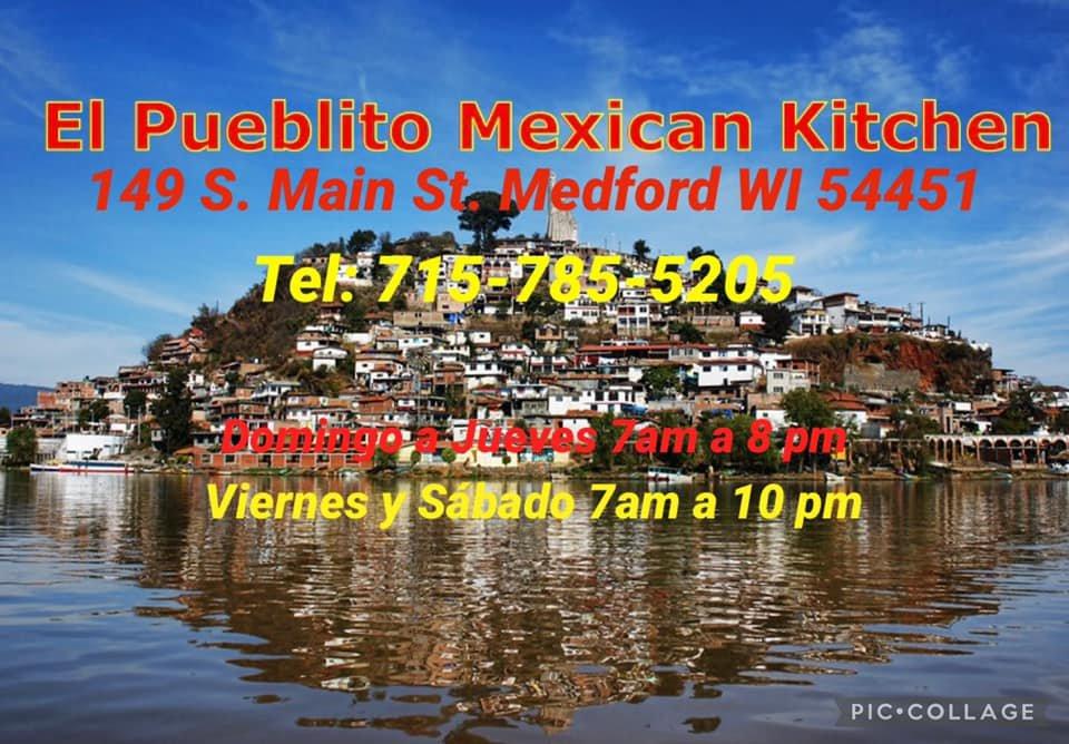 El Pueblito Mexican Kitchen: 149 S Main St, Medford, WI