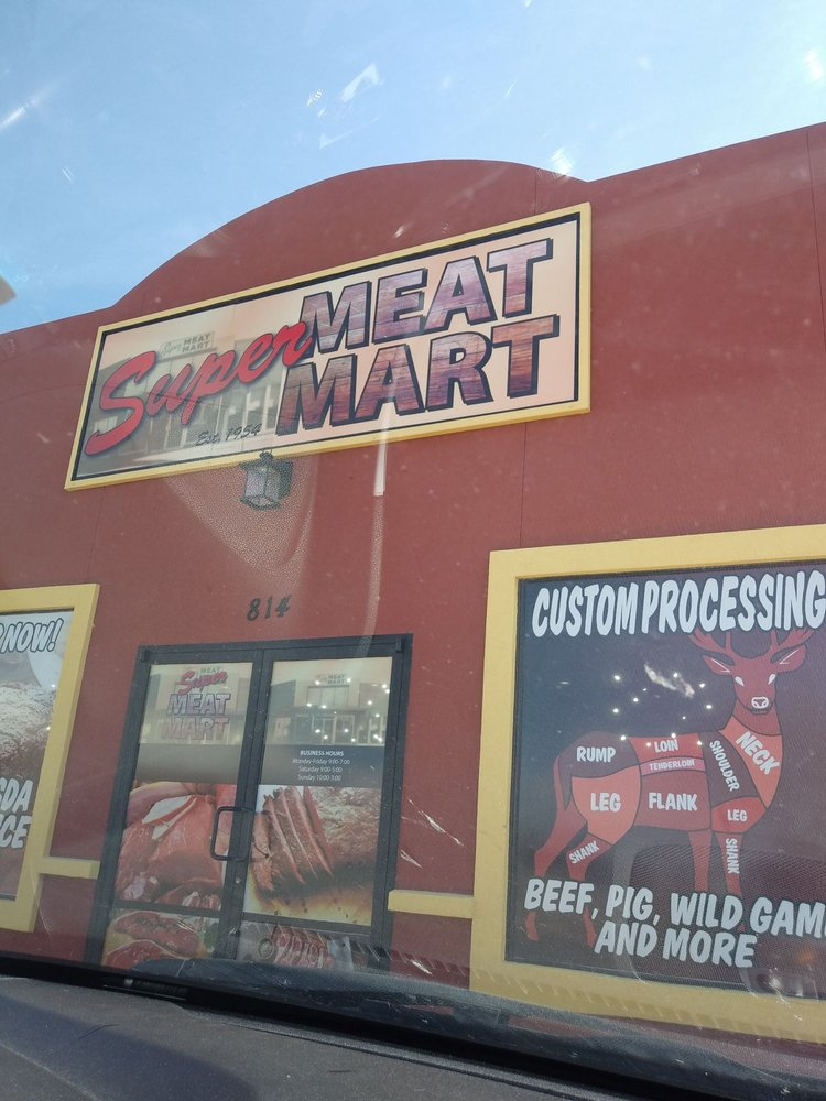 Super Meat Mart: 814 W 2nd St, Roswell, NM