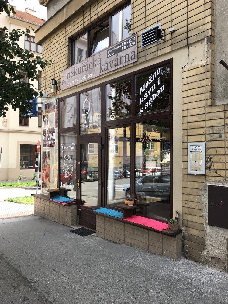 Gimmi Lounge Cafe: Slovanské náměstí 1, Brno, JM