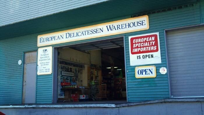 European Specialty S Food Imports Vancouver Bc