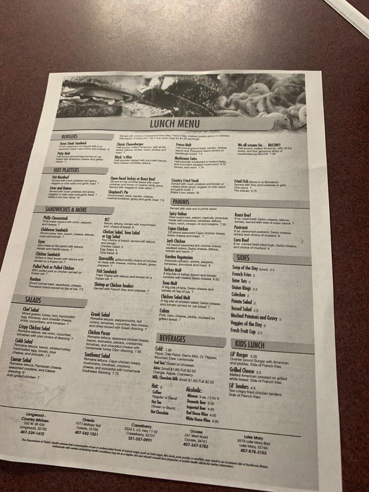 Breakfast Club: 3575 W Lake Mary Blvd, Lake Mary, FL