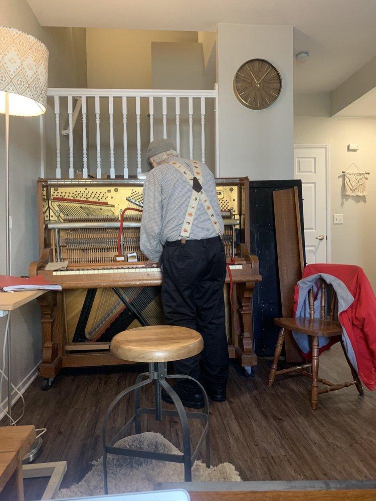 Wilbur Daniels Piano Service: 4908 N Sequoia Ave, Fresno, CA