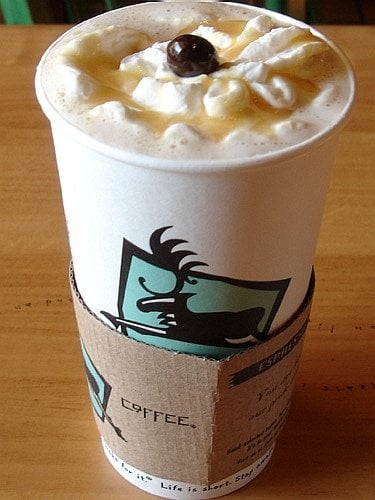 Photo Of Caribou Coffee Owings Mills Md United States Vanilla White Chocolate