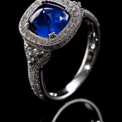 Photo Of Castor Jewelry Lambertville Nj United States Sugarloaf Natural Sapphire And