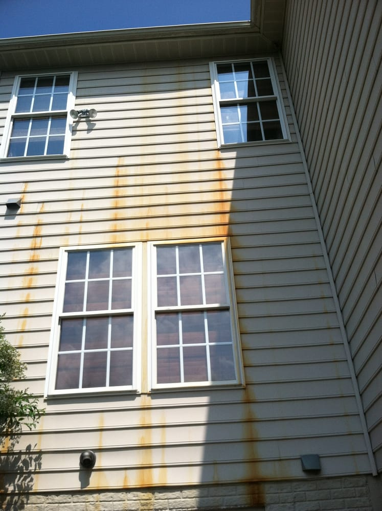 Photo Of Superior Pressure Washing Olney Md United States Rust Stains On