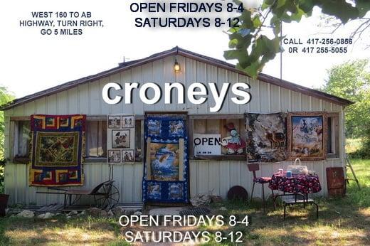 Croneys Homestead Fabrics: 2801 State Hwy Ab, West Plains, MO
