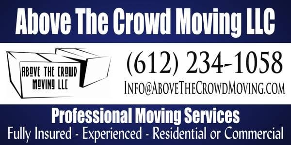 Above The Crowd Moving: 17159 Sunrise Ave, Prior Lake, MN