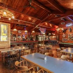 Photo Of Entiat Log Cabin   Entiat, WA, United States. Full Bar Side