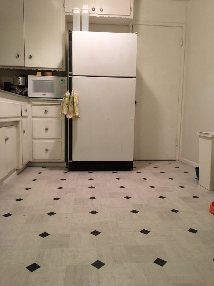 My new kitchen floor! Thanks Drake\'s AKA Triple A Flooring - Yelp