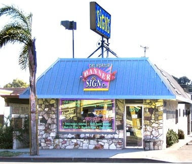 California Banner And Sign Com: 1670 Pacific Coast Hwy, Harbor City, CA