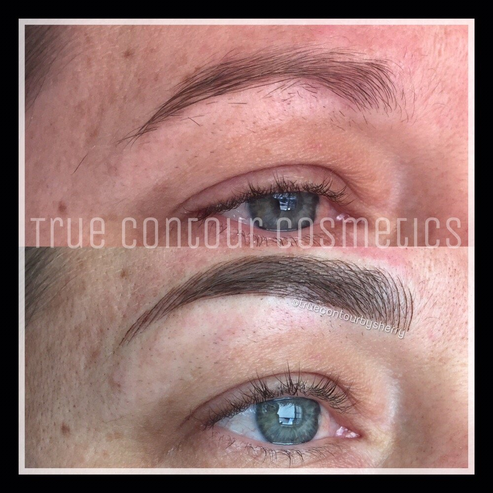 3d Hair Strokes Natural Look Semi Permanent Eyebrow Tattoo San