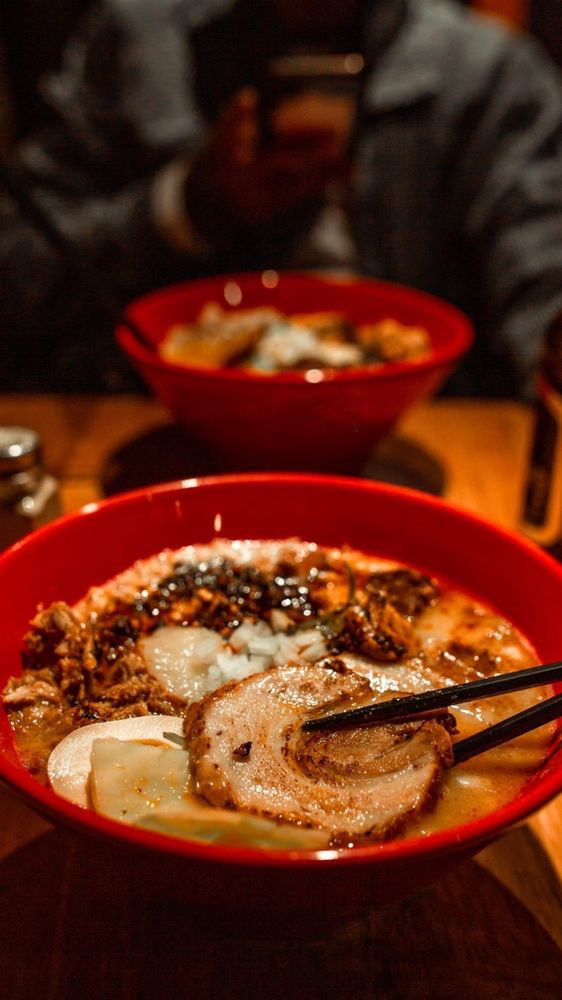Food from Totto Ramen