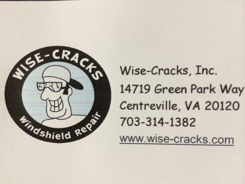 Wise-Cracks Windshield Repair