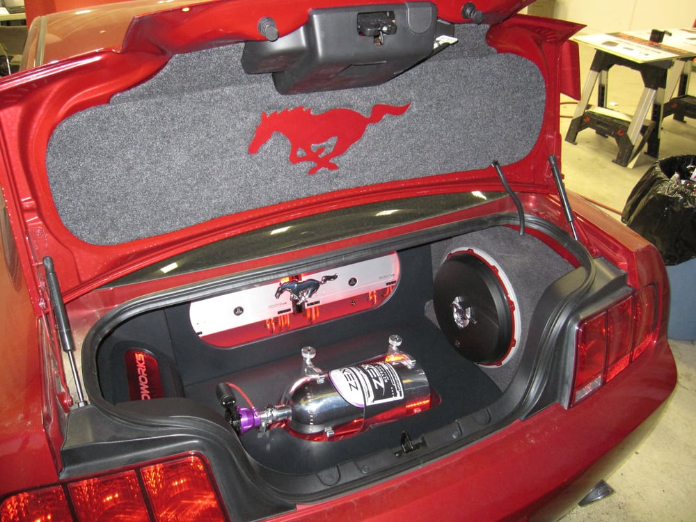 ford mustang custom trunk lid cover yelp. Black Bedroom Furniture Sets. Home Design Ideas