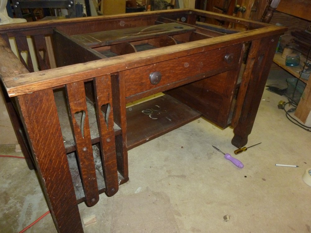 Groovy Before Pic Of Refinished Oak Desk Yelp Download Free Architecture Designs Scobabritishbridgeorg