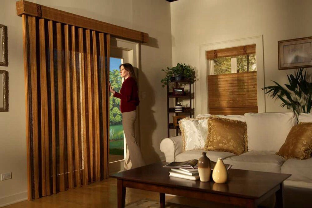 Perfect For Sliding Glass Doors With Its Effortless