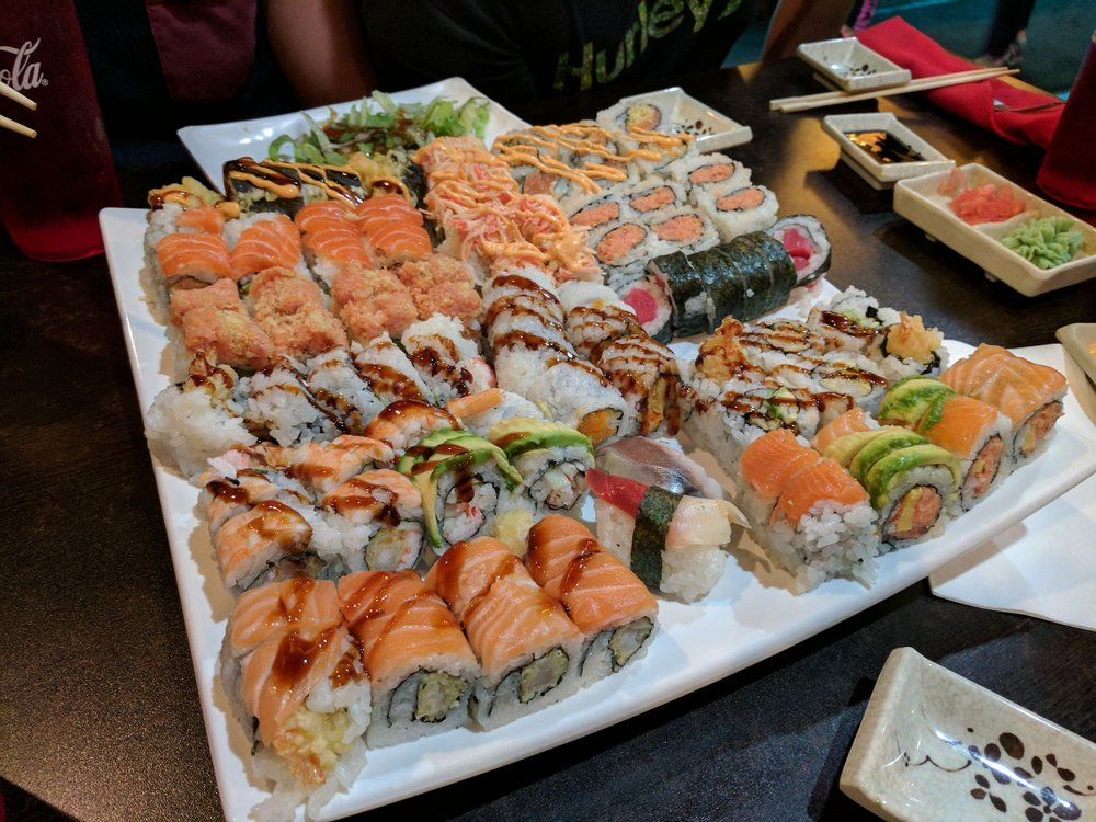 Saki Endless Sushi and Hibachi Eatery: 11921 N Dale Mabry Hwy, Tampa, FL