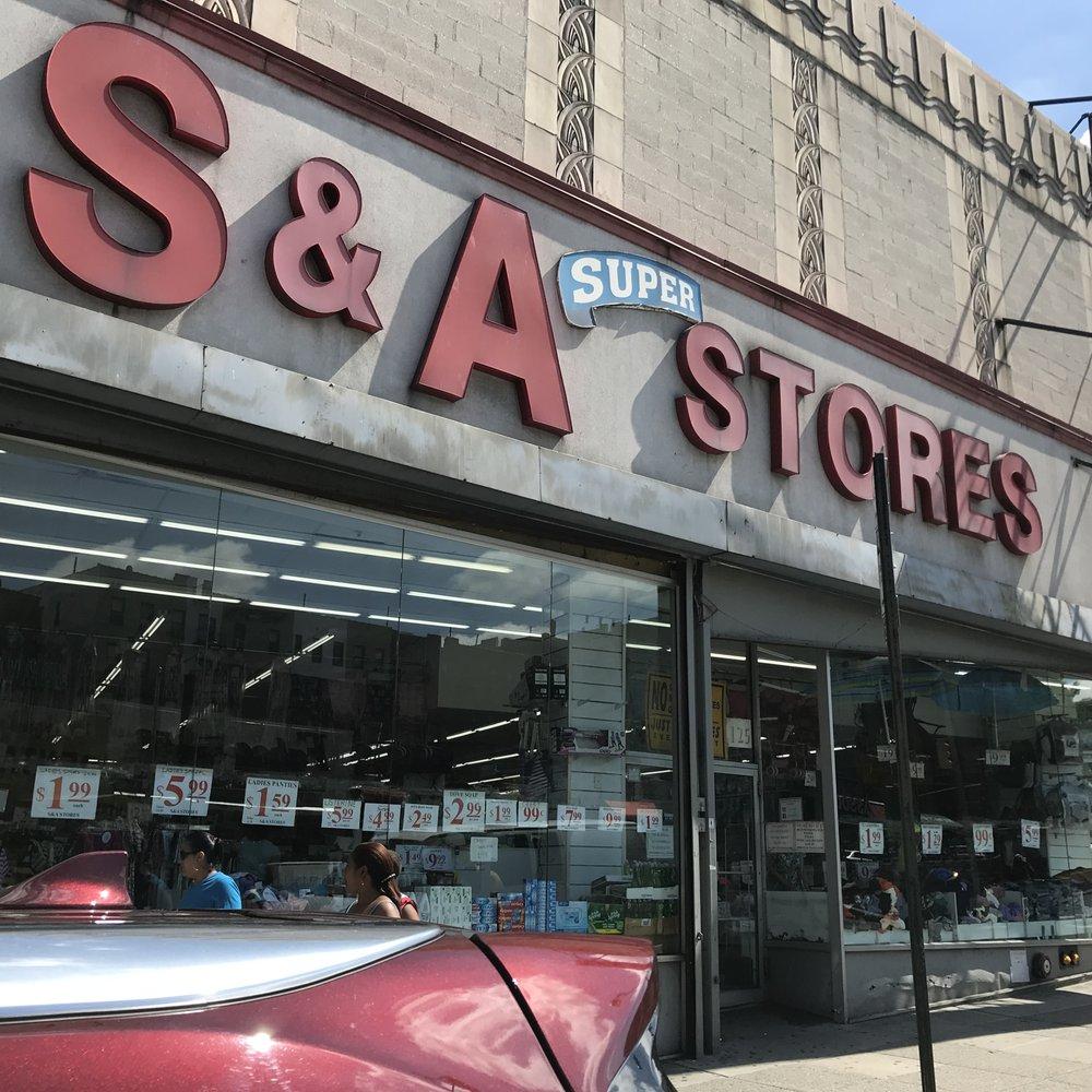 S & A Stores: 125 E 170th St, Bronx, NY