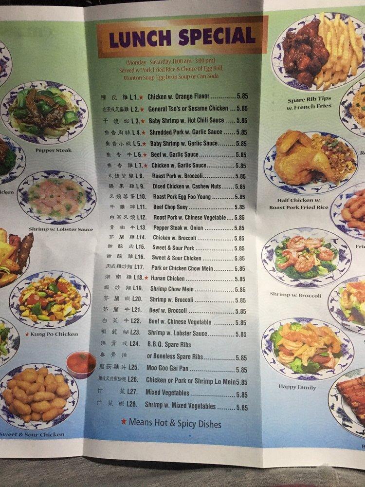 Lee Kitchen: Menu, Lunch Specials!
