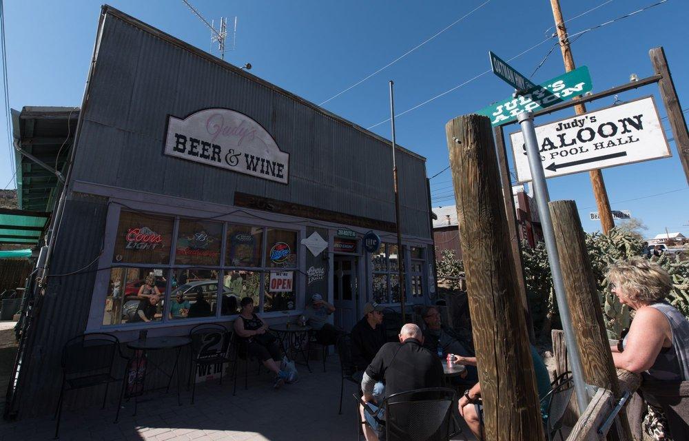 Judy's: 260 Main St, Oatman, AZ