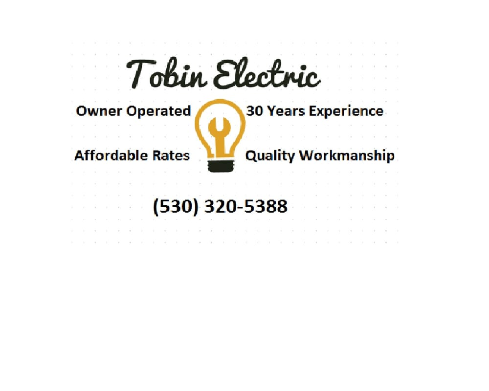 Tobin Electric: Foresthill, CA
