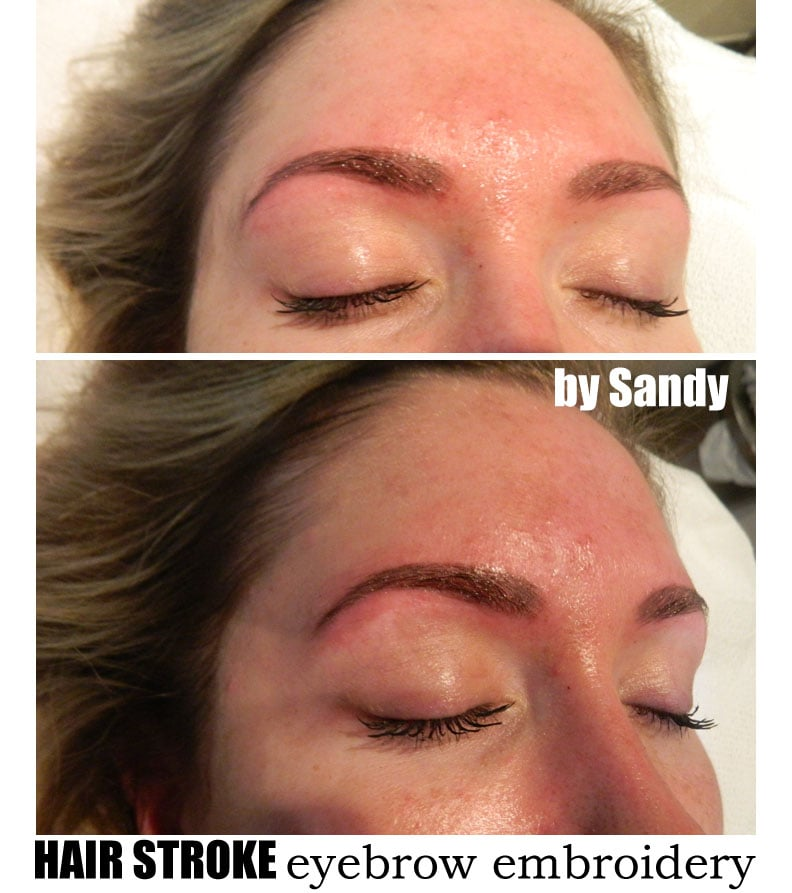 Hair Stroke Eyebrow Embroidery For Blonde - Yelp