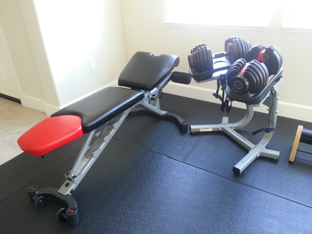 e of my favorite Direct Buy purchases Bowflex Weights