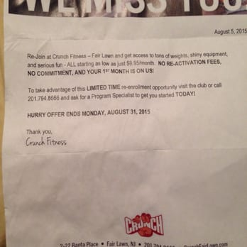 Retro Fitness Cancellation Letter.Crunch Closed 55 Photos 40 Reviews Gyms 2 22 Banta