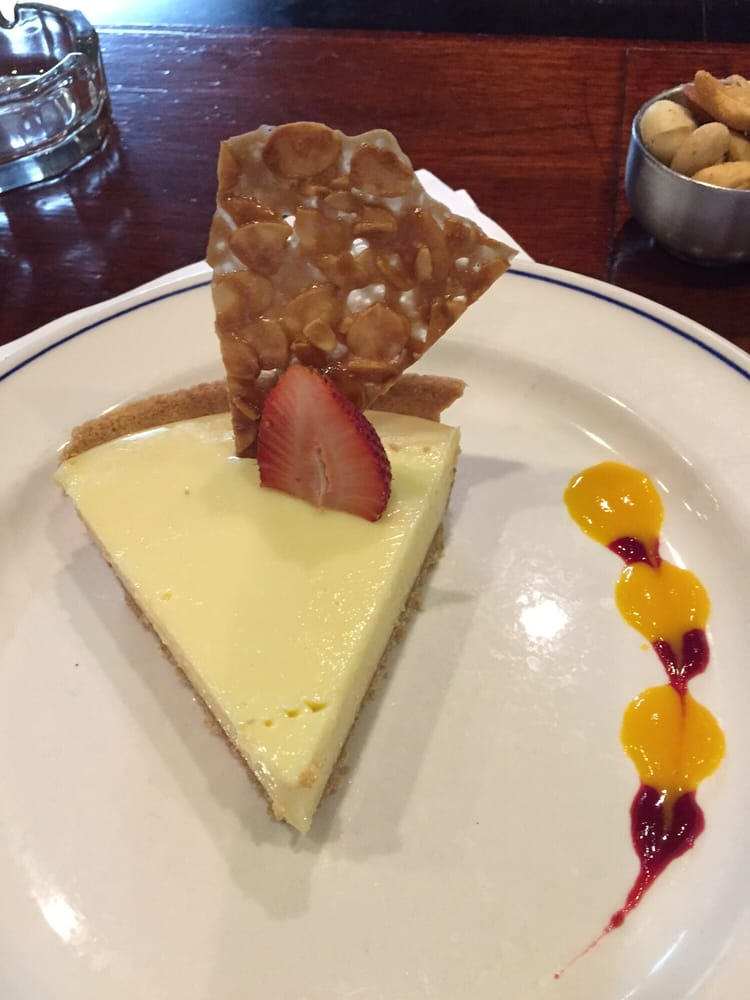 Key Lime Pie without the whipped cream (my request) - Delish! - Yelp