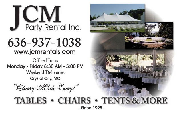 JCM Party Rentals: 7 Waggener Industrial Ct, Crystal City, MO