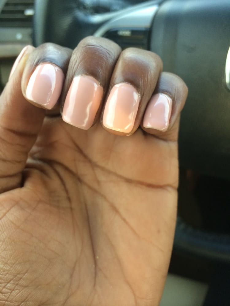 Worst gel manicure ever!! - Yelp