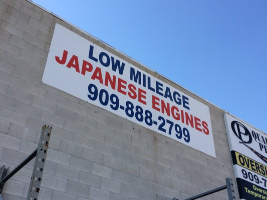 Island Auto Parts Low Mileage Used Japanese Engines & Transmissions