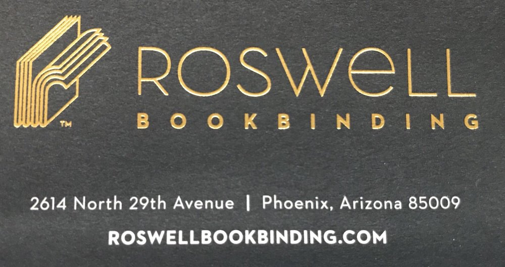Roswell Book Binding: 2614 N 29th Ave, Phoenix, AZ