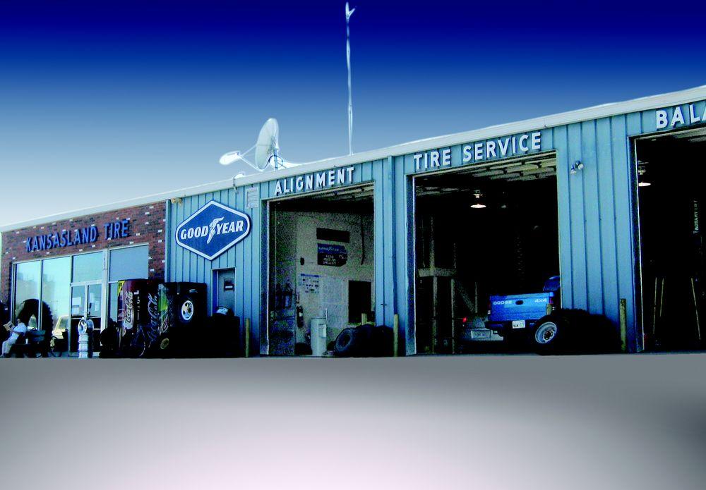 Kansasland Tire: 1402 Main, Goodland, KS